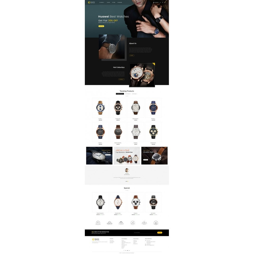 theme - Schmuck & Accesoires - Quartz Watch Store - 2