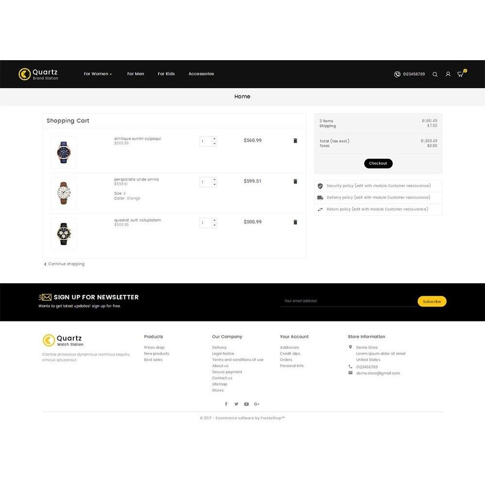 theme - Jewelry & Accessories - Quartz Watch Store - 6