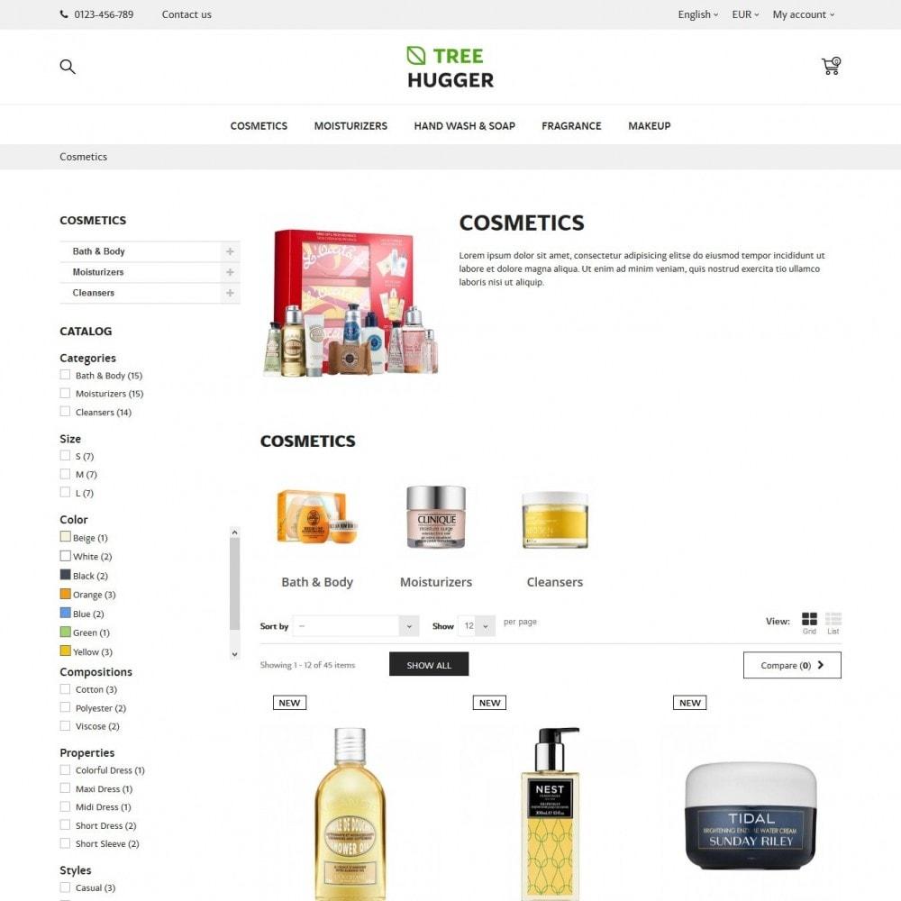 theme - Santé & Beauté - Tree Hugger Cosmetics - 4