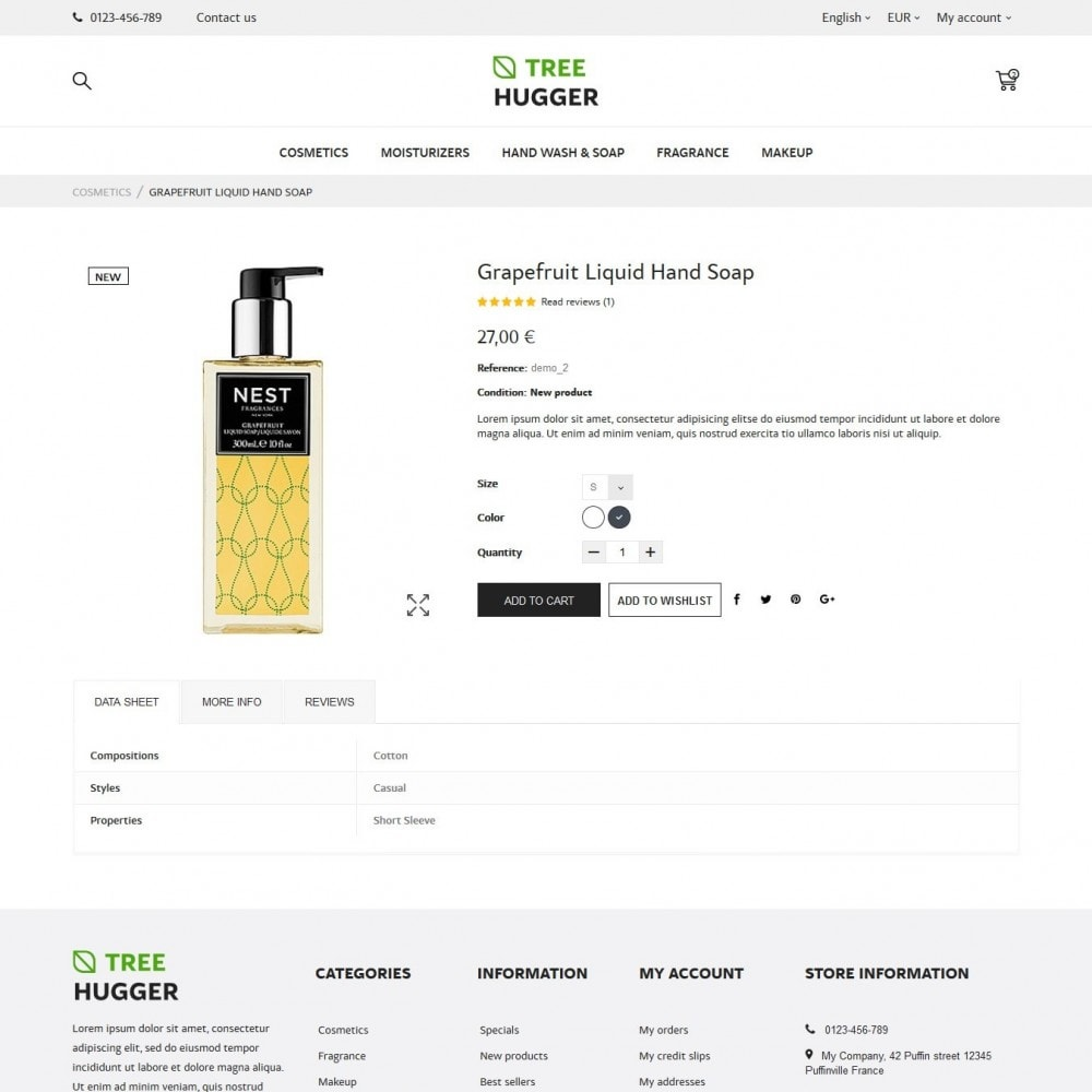theme - Health & Beauty - Tree Hugger Cosmetics - 6