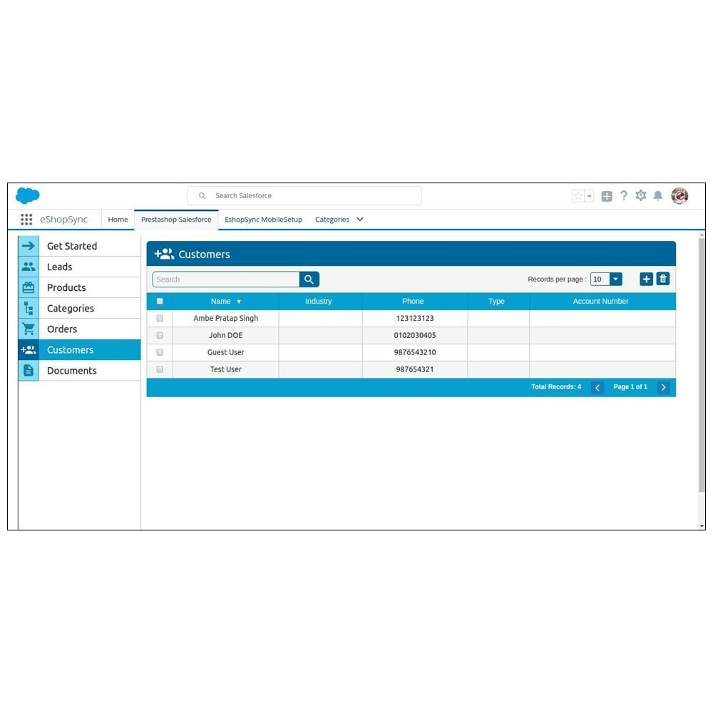 module - Third-party Data Integration (CRM, ERP...) - Salesforce Connector - 28