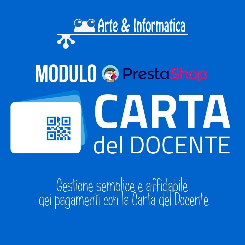 module - Formas de Pagamento Alternativas - Art POS GateWay Carta del Docente Light - 1
