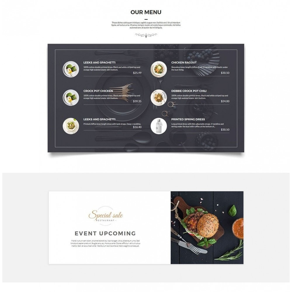 theme - Lebensmittel & Restaurants - JiKo Food & Drink - 4