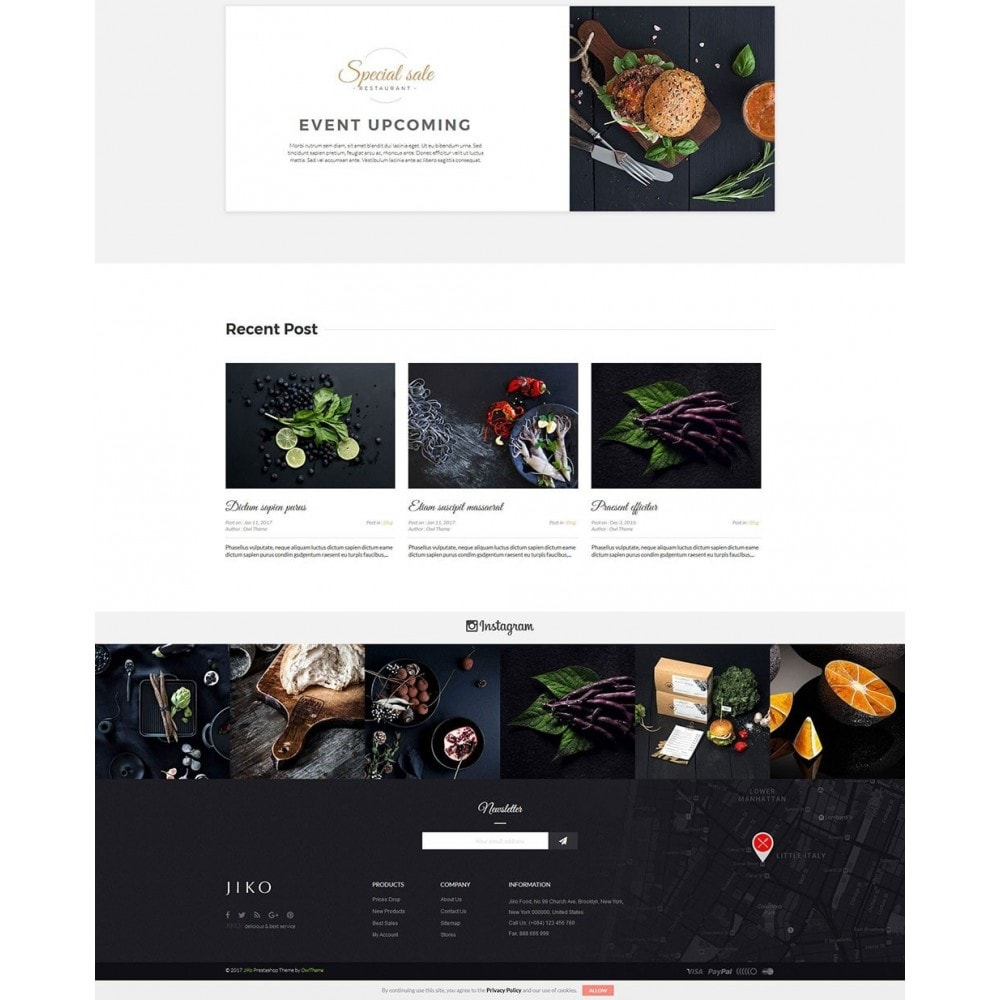 theme - Alimentation & Restauration - JiKo Food & Drink - 5