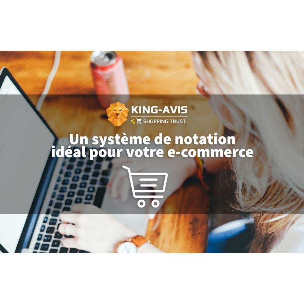 module - Avis clients - King-Avis : Récolte d'avis clients - 1
