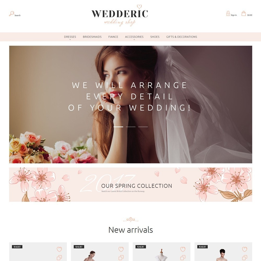 theme - Regali, Fiori & Feste - Wedderic - Wedding Shop - 4