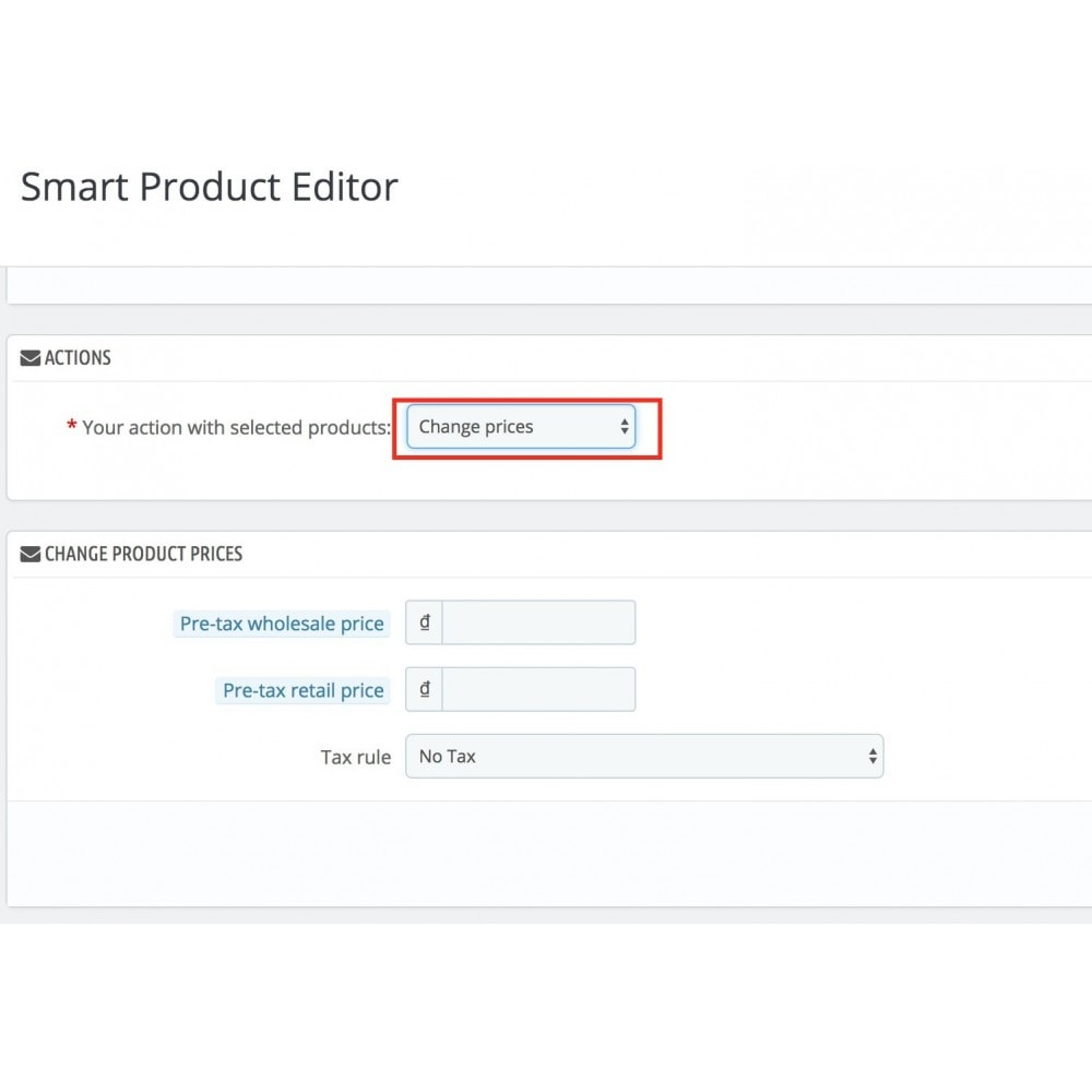 module - Fast & Mass Update - Smart Product Editor - 2