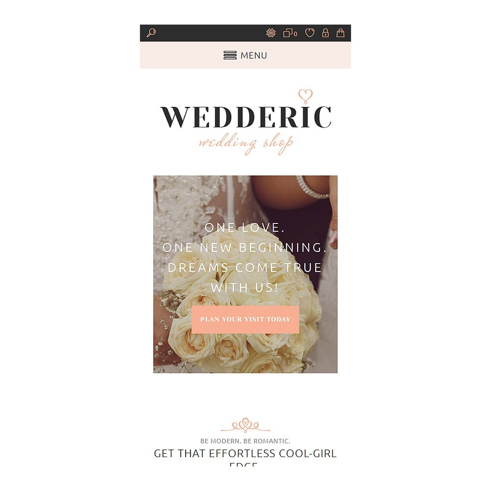 theme - Mode & Chaussures - Wedderic - Wedding Shop Responsive - 4