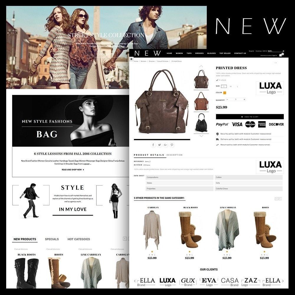 theme - Мода и обувь - New Style Fashion Store - 1