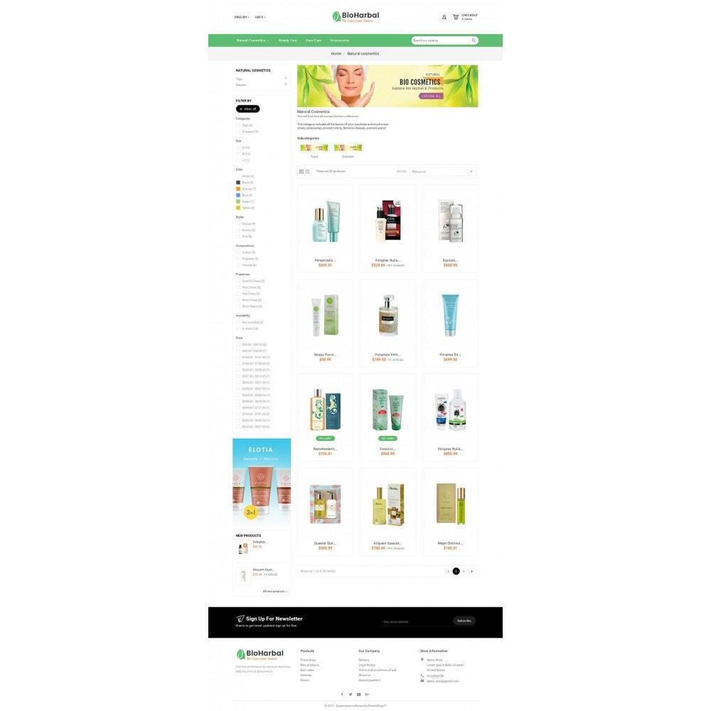 theme - Zdrowie & Uroda - Bio Cosmetics Store - 3