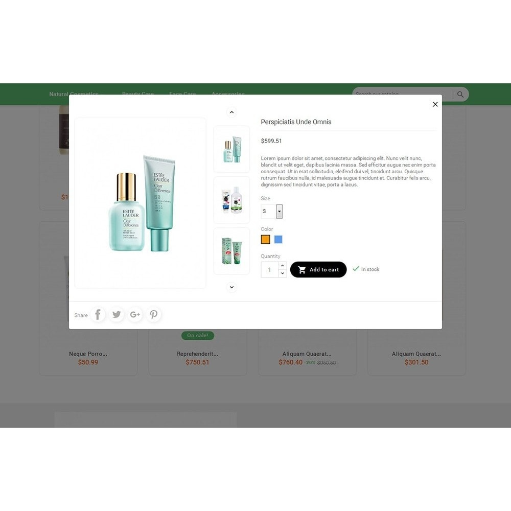 theme - Gesundheit & Schönheit - Bio Cosmetics Store - 8