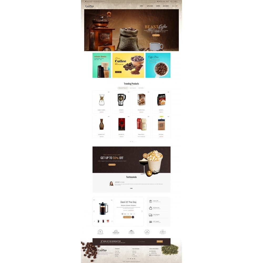 theme - Drank & Tabak - Cold Coffee Store - 2