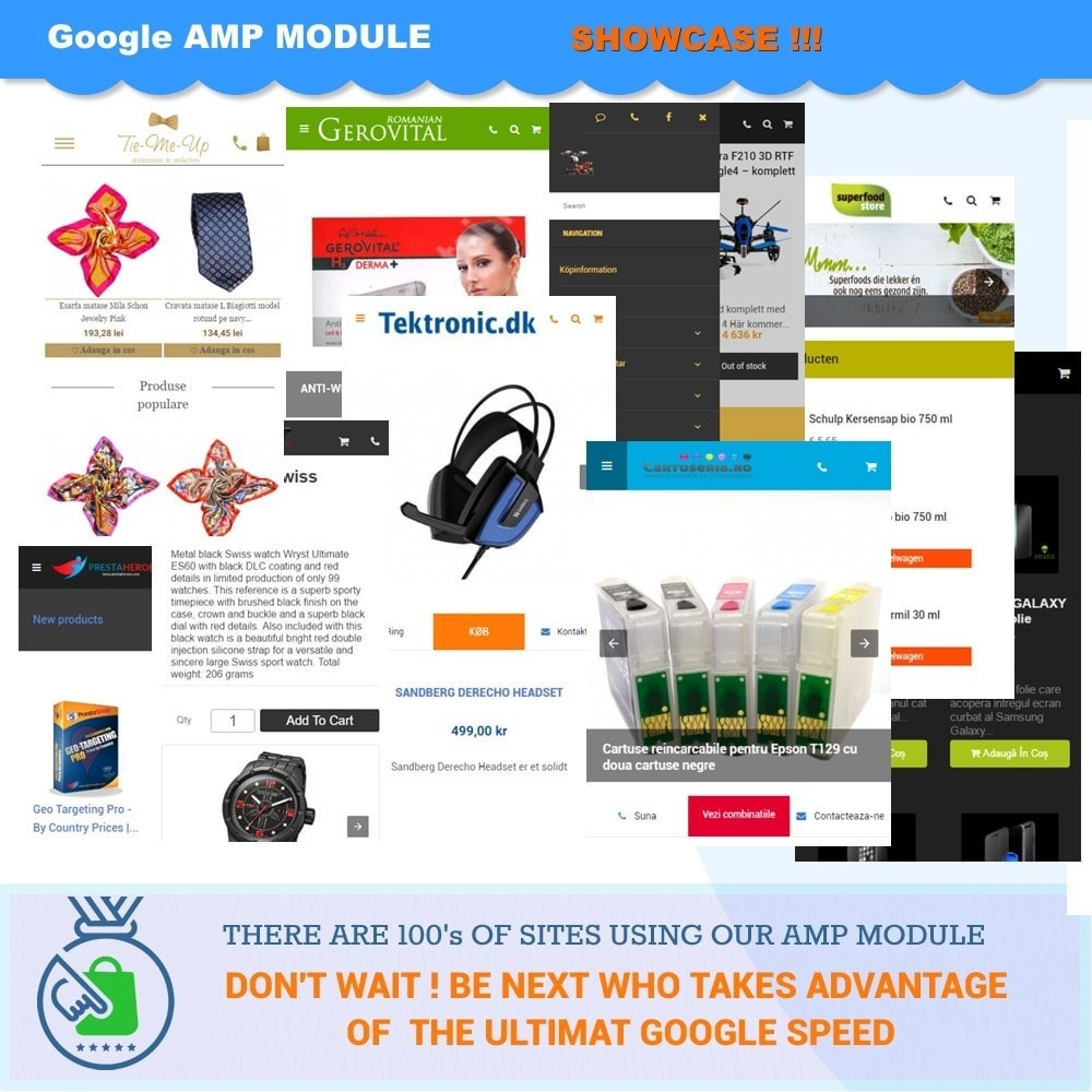 module - Performance - PROFESSIONAL AMP PAGES - ACCELERATED MOBILE PAGES - 10