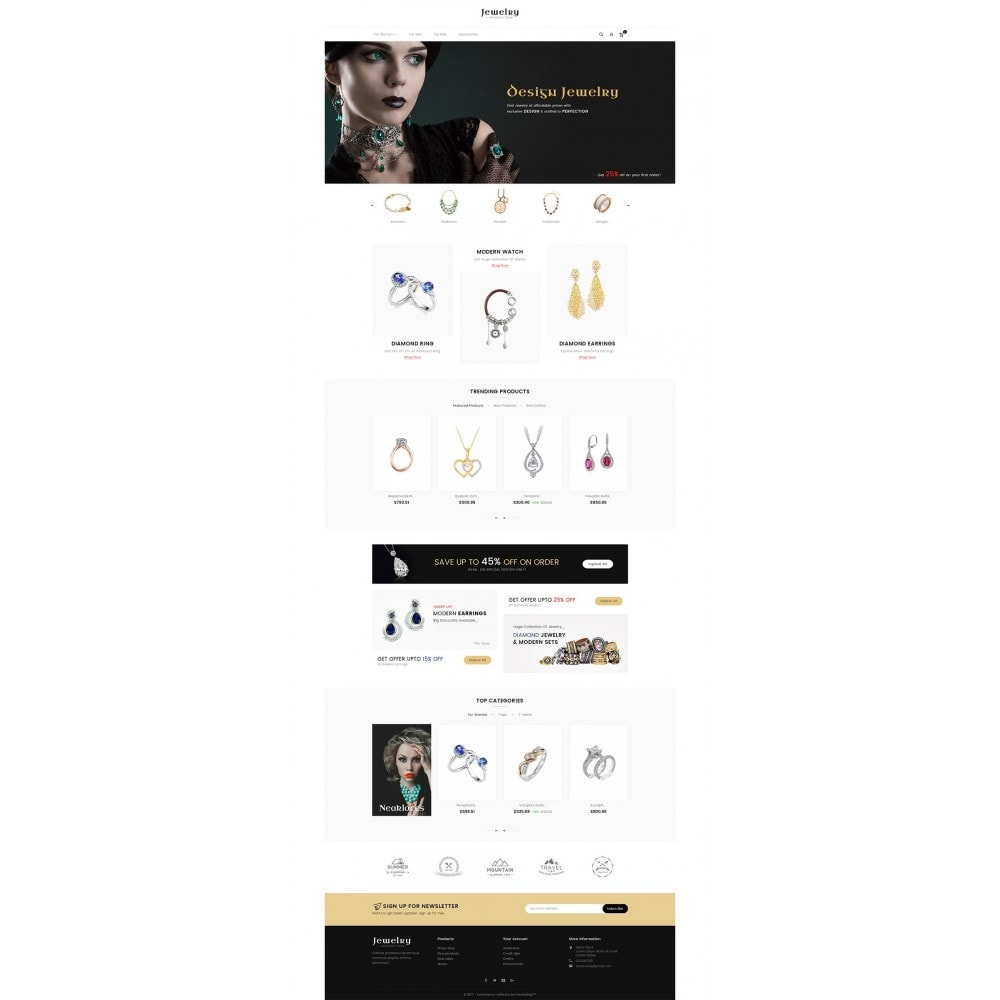 theme - Bellezza & Gioielli - Jewelry Store - 2