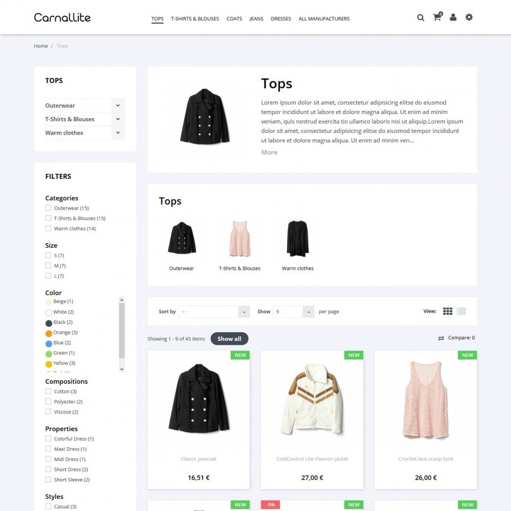 theme - Mode & Chaussures - Carnalitte Fashion Store - 5