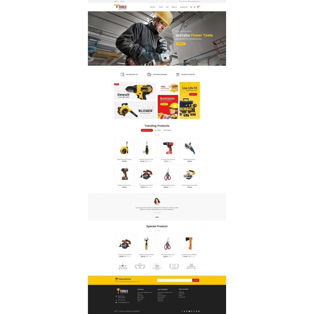 theme - Automotive & Cars - Tools Store - 2