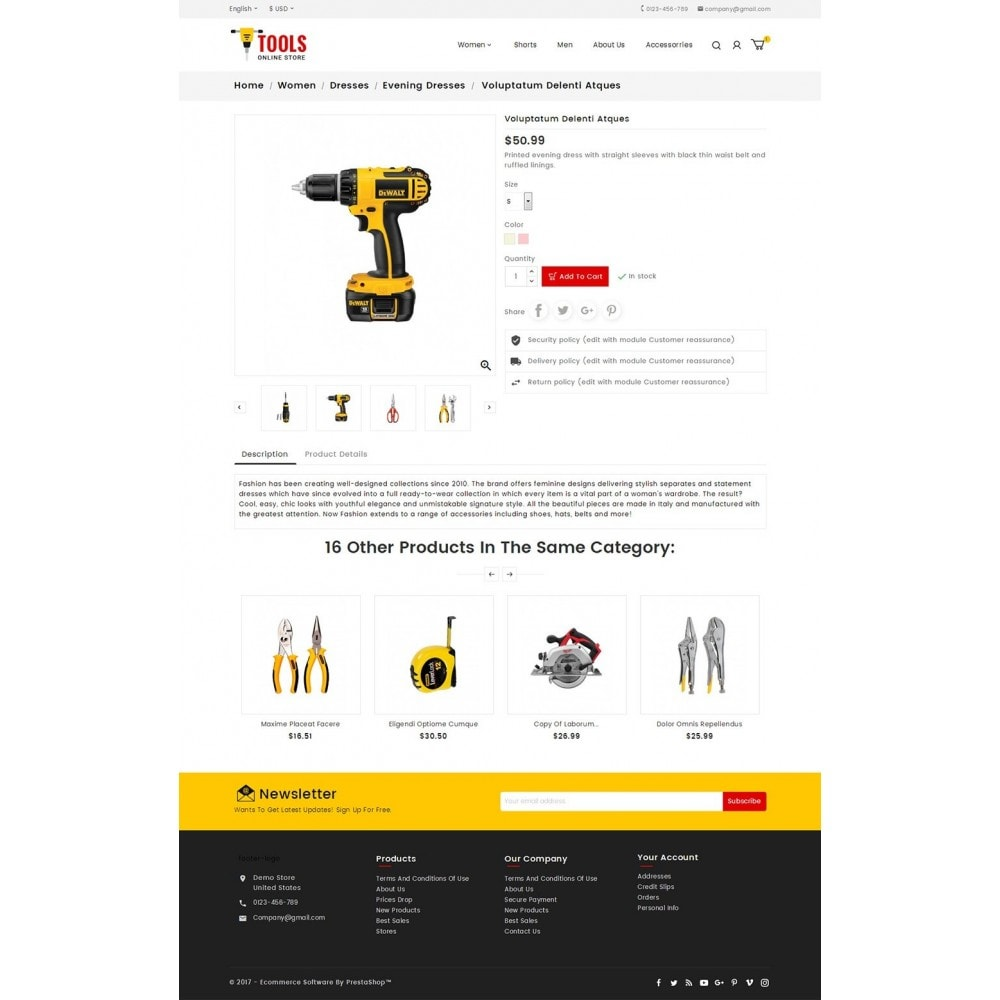 theme - Coches y Motos - Tools Store - 5