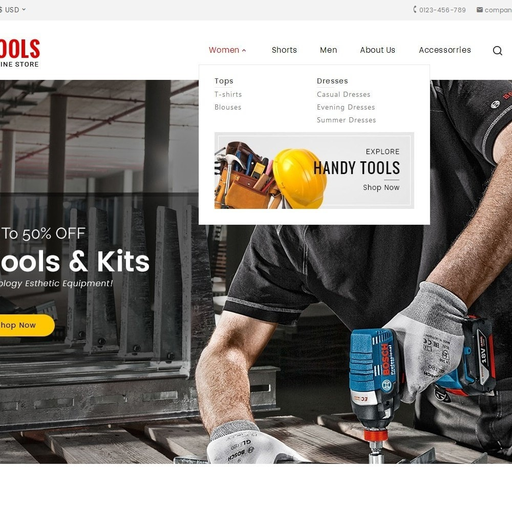 theme - Automotive & Cars - Tools Store - 9