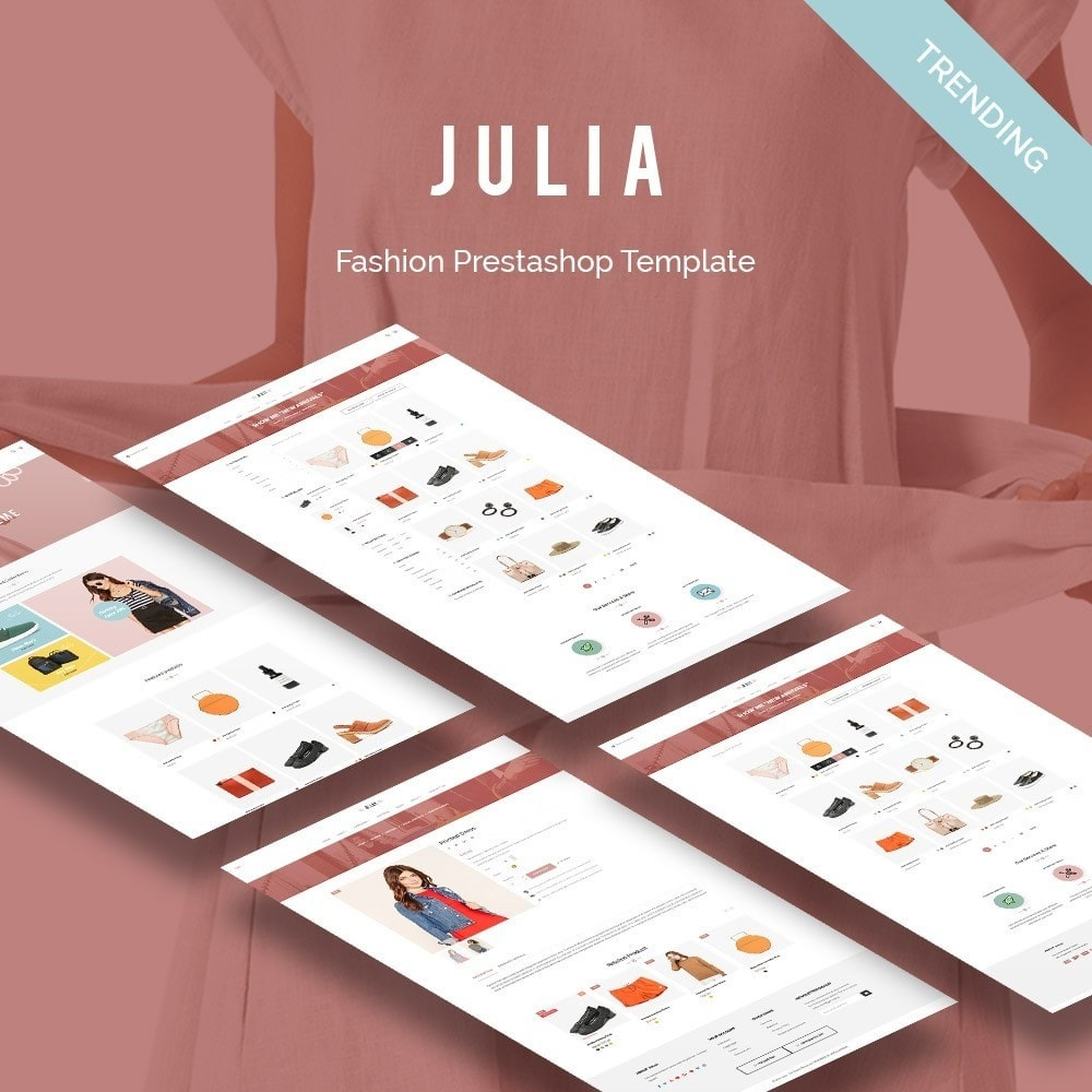 theme - Mode & Schoenen - Julia Fashion - 1