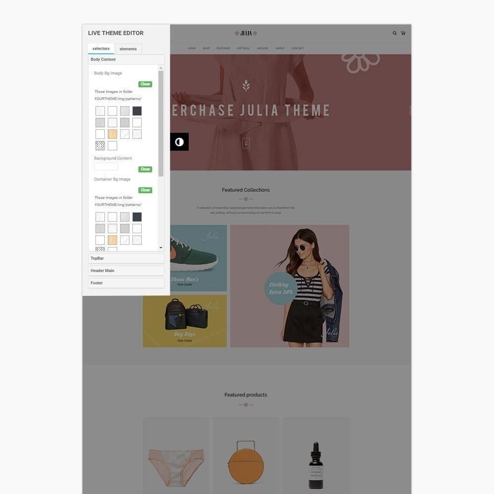 theme - Mode & Schoenen - Julia Fashion - 4