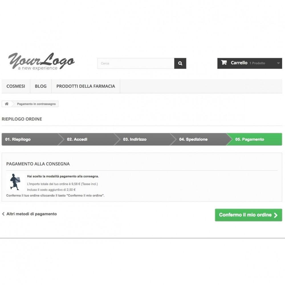 module - Pagamento alla Consegna (in contrassegno) - Contrassegno con fee e pagamento in negozio - 3