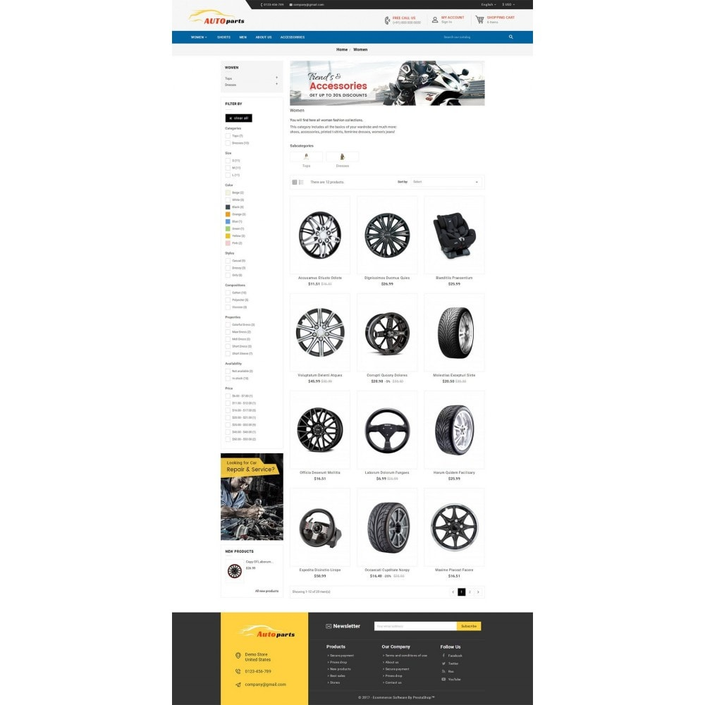 theme - Carros & Motos - Auto Parts - 3