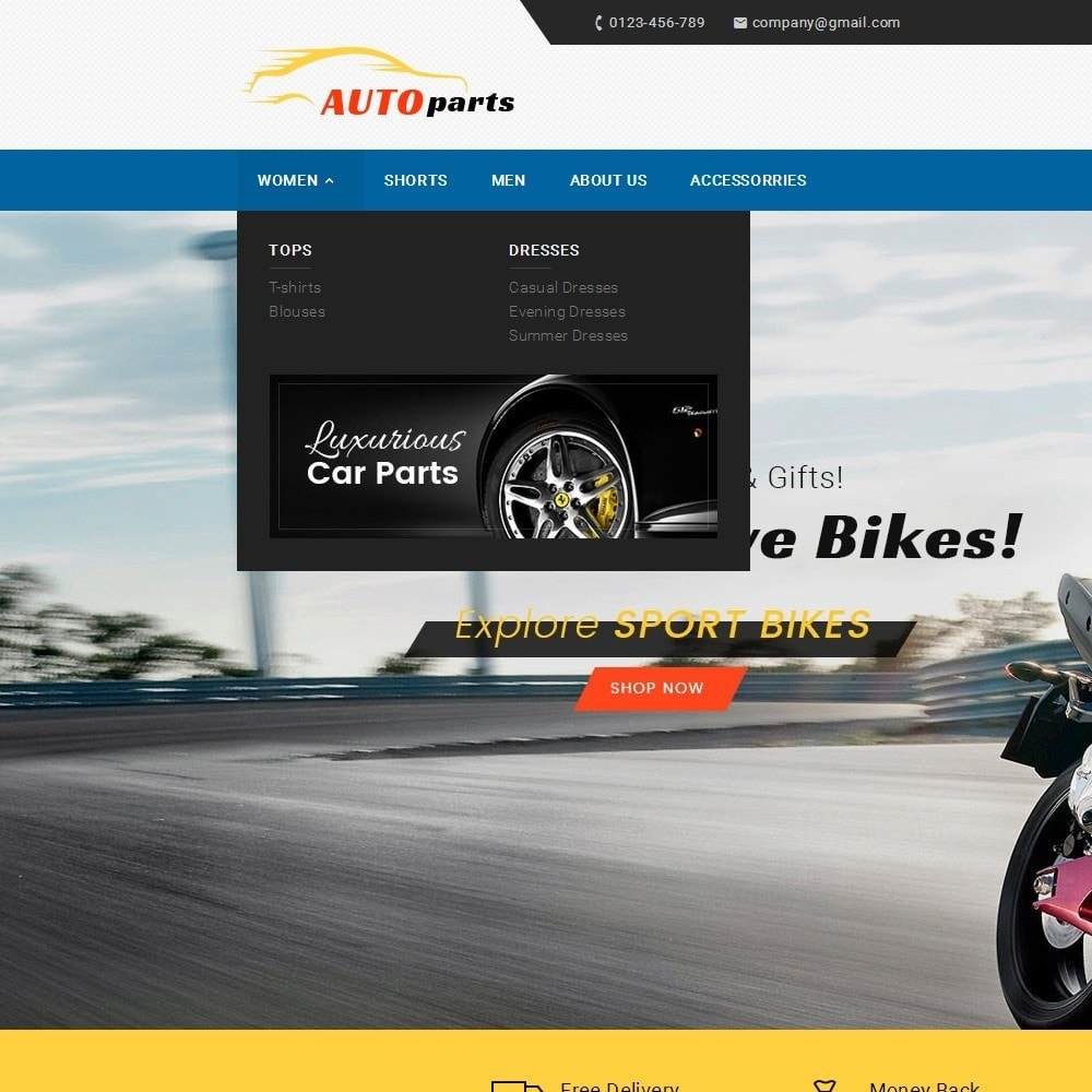 theme - Carros & Motos - Auto Parts - 9