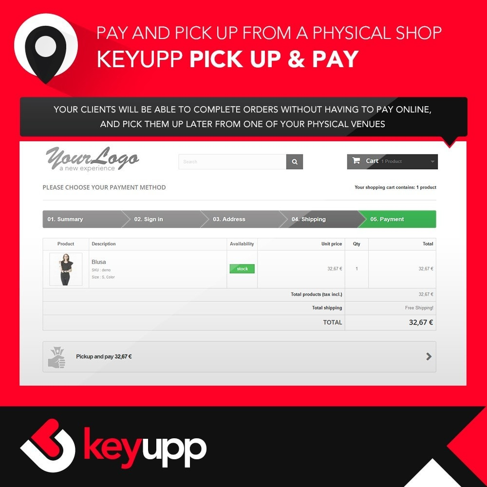 module - Paiement en Magasin - Pick Up & Pay in physical stores - 3