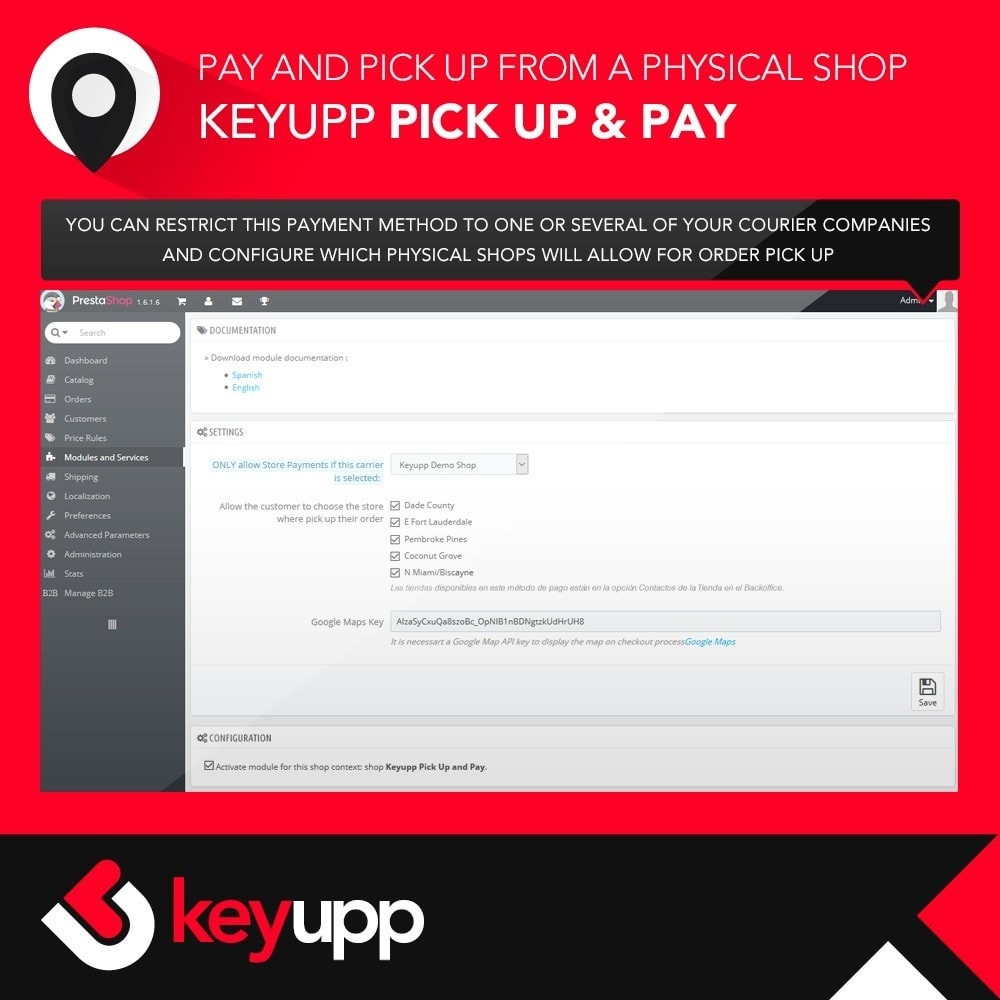 module - Pagamento em Loja - Pick Up & Pay in physical stores - 2