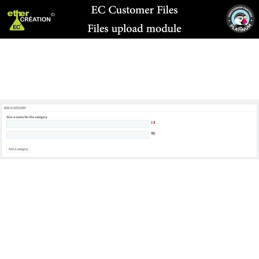 module - Kundenservice - Provision of files for customers - 1