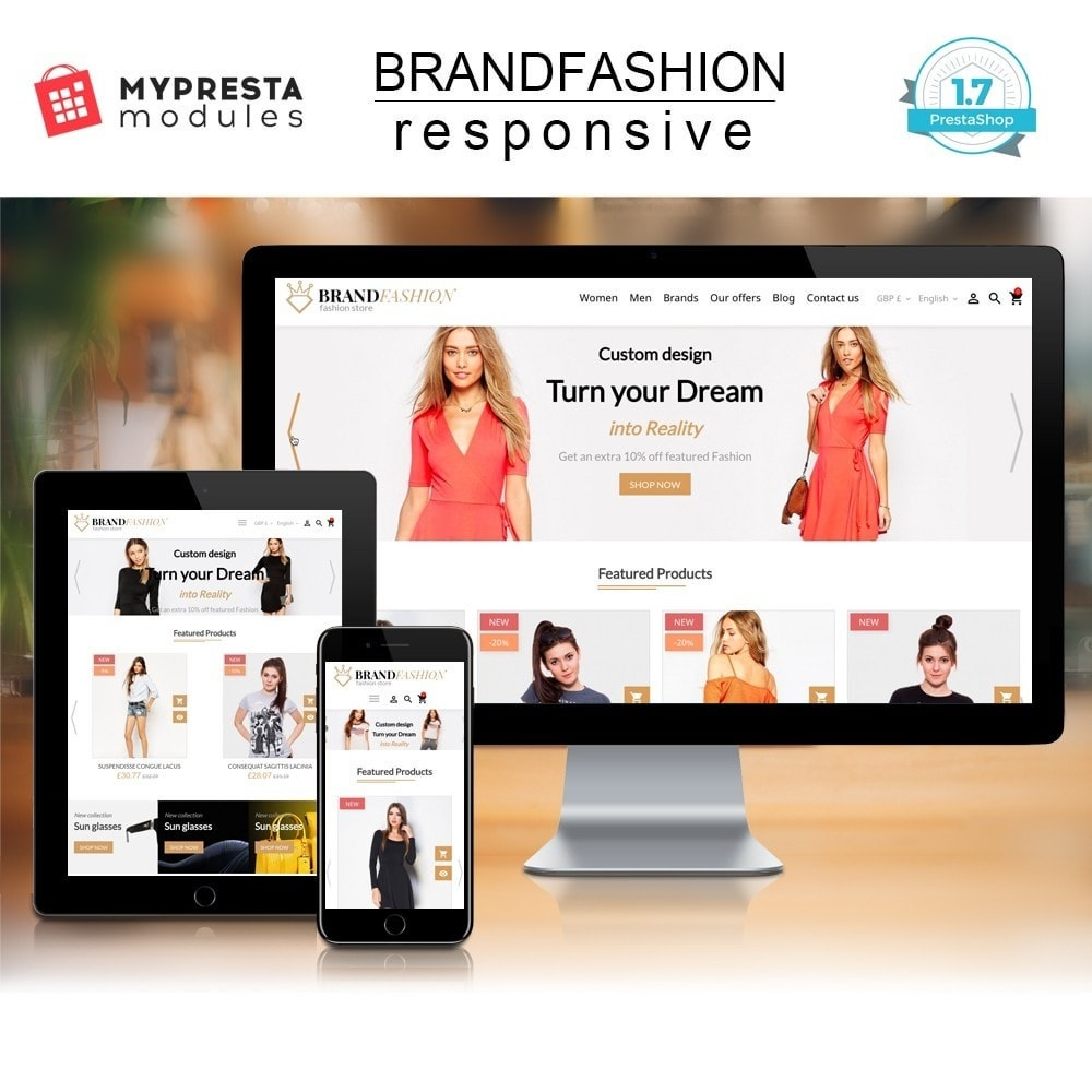 theme - Мода и обувь - BrandFashion - 1