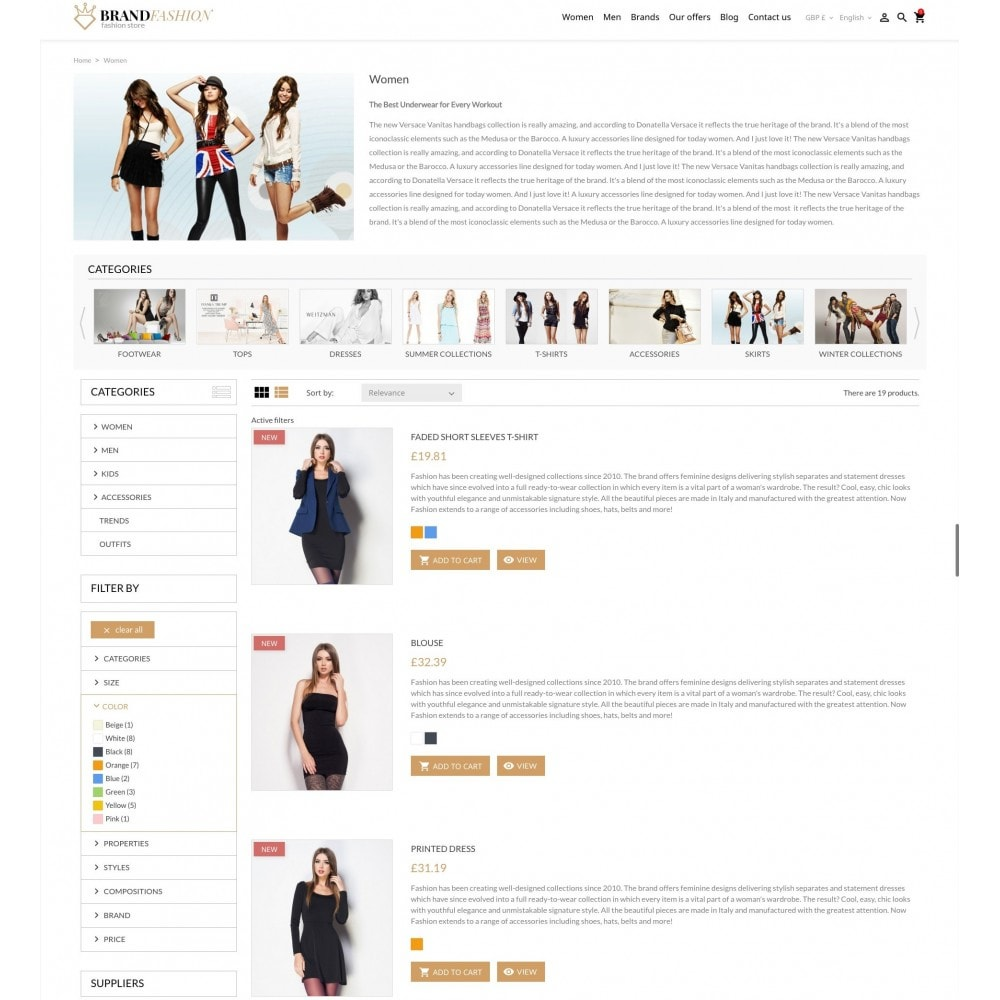 theme - Moda y Calzado - BrandFashion - 5