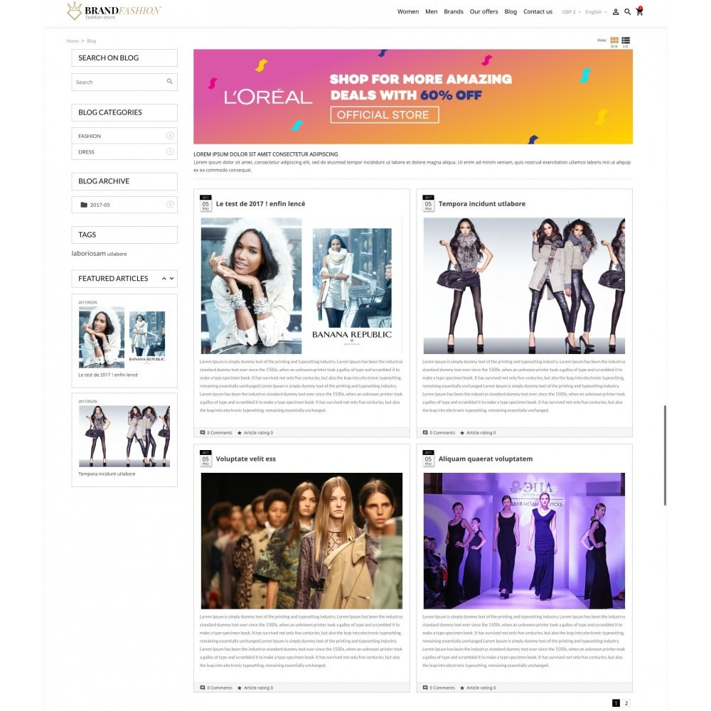 theme - Мода и обувь - BrandFashion - 9