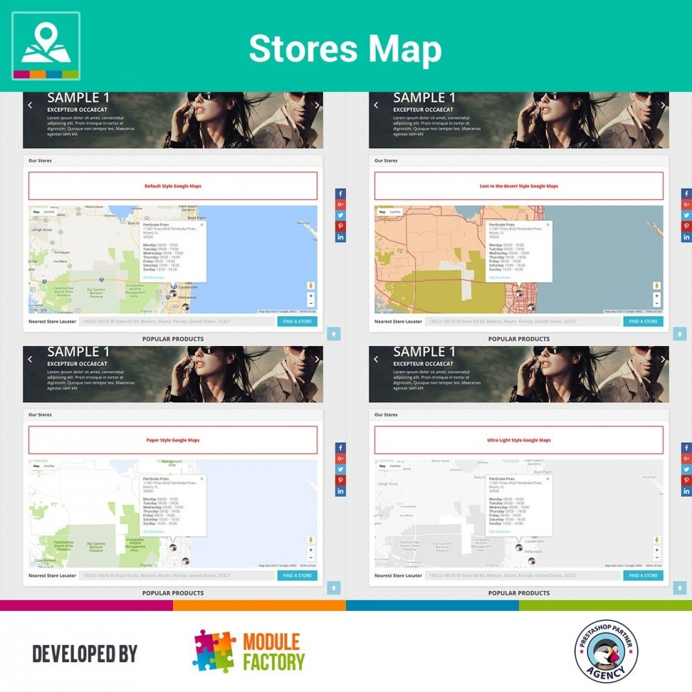 module - International & Localization - Stores Map on Home Page + Custom Page - 3