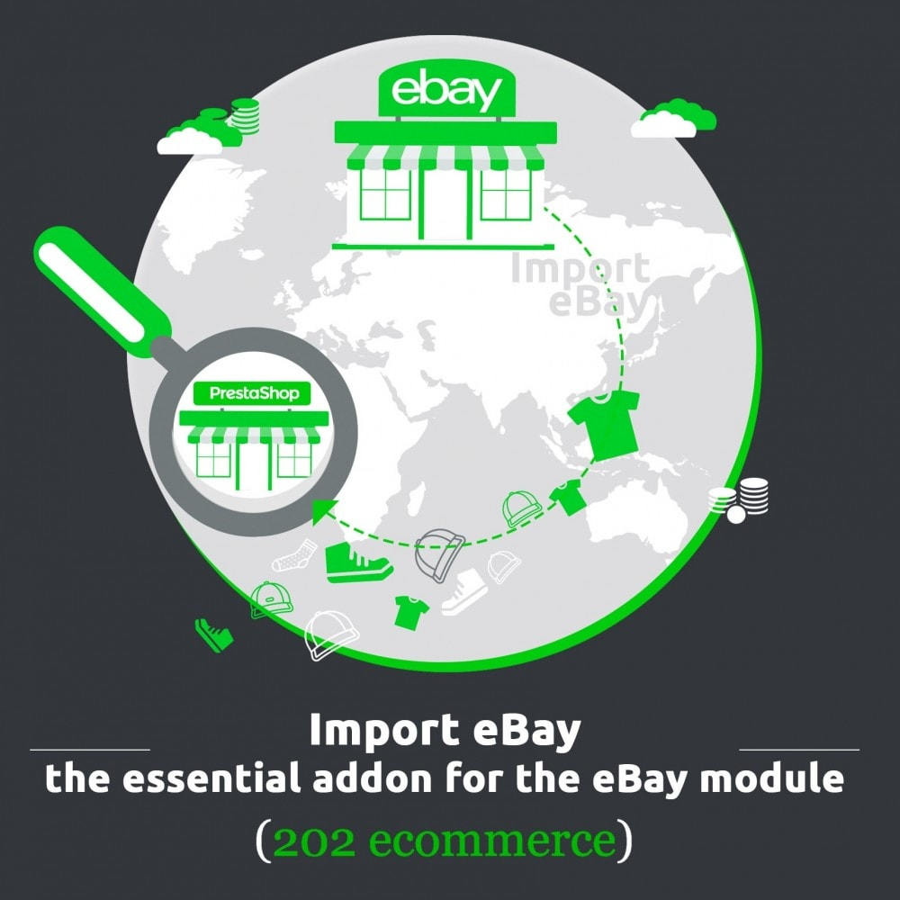 module - Marktplätze - Import eBay, the essential addon for the eBay module - 1
