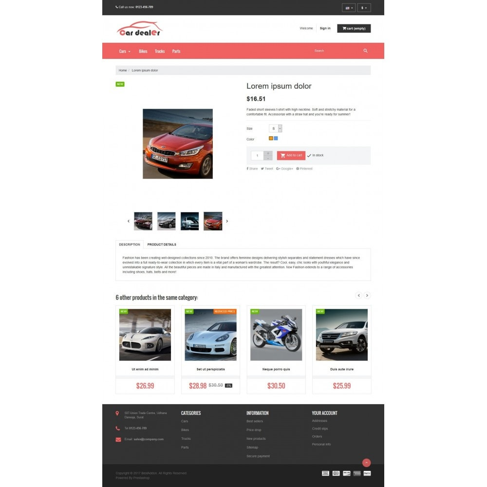 theme - Coches y Motos - VP_CarDealer Store - 4
