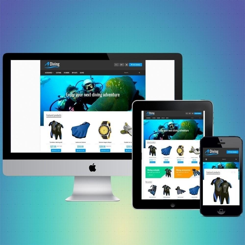theme - Desporto, Actividades & Viagens - VP_Diving Store - 1