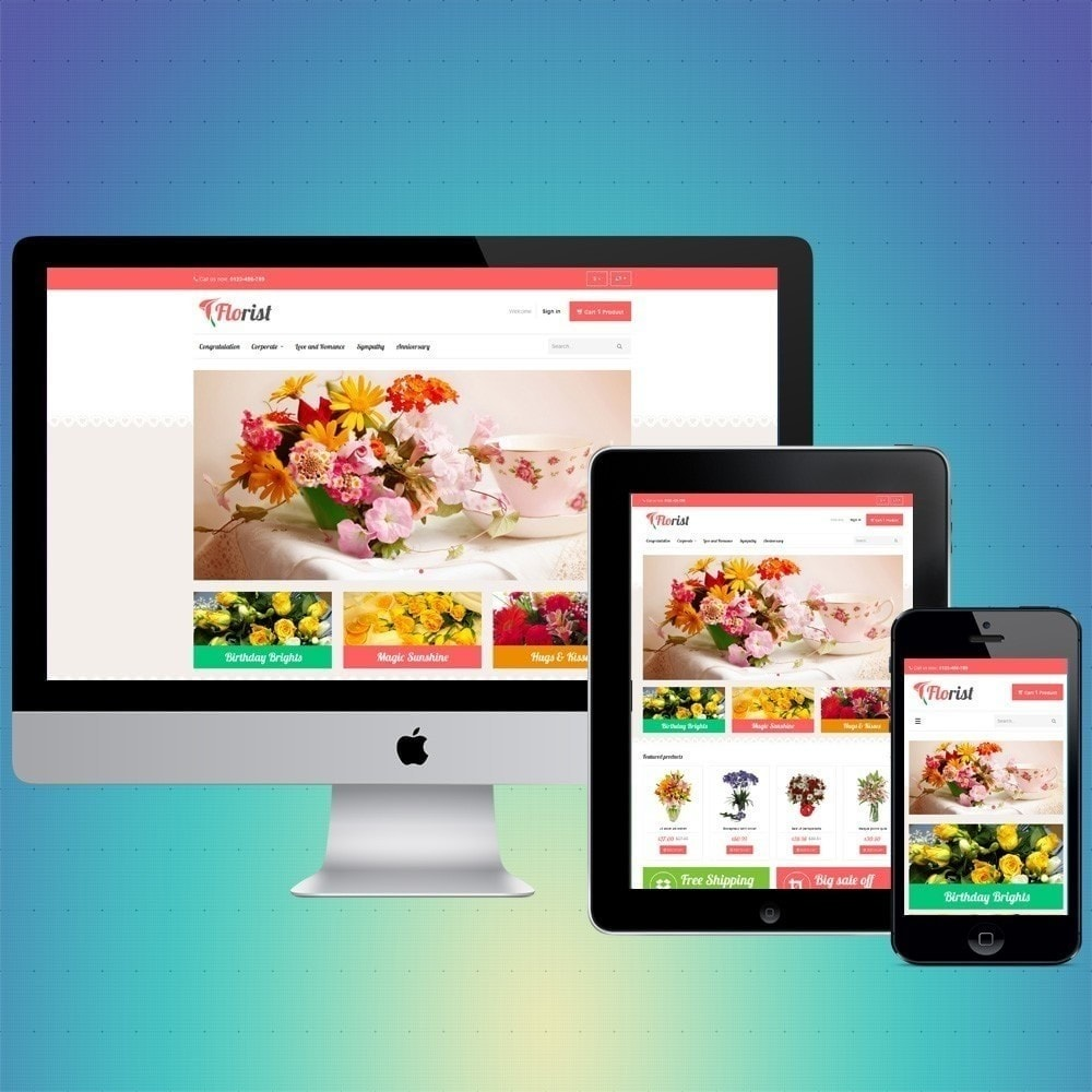 theme - Gifts, Flowers & Celebrations - VP_Florist Store - 1