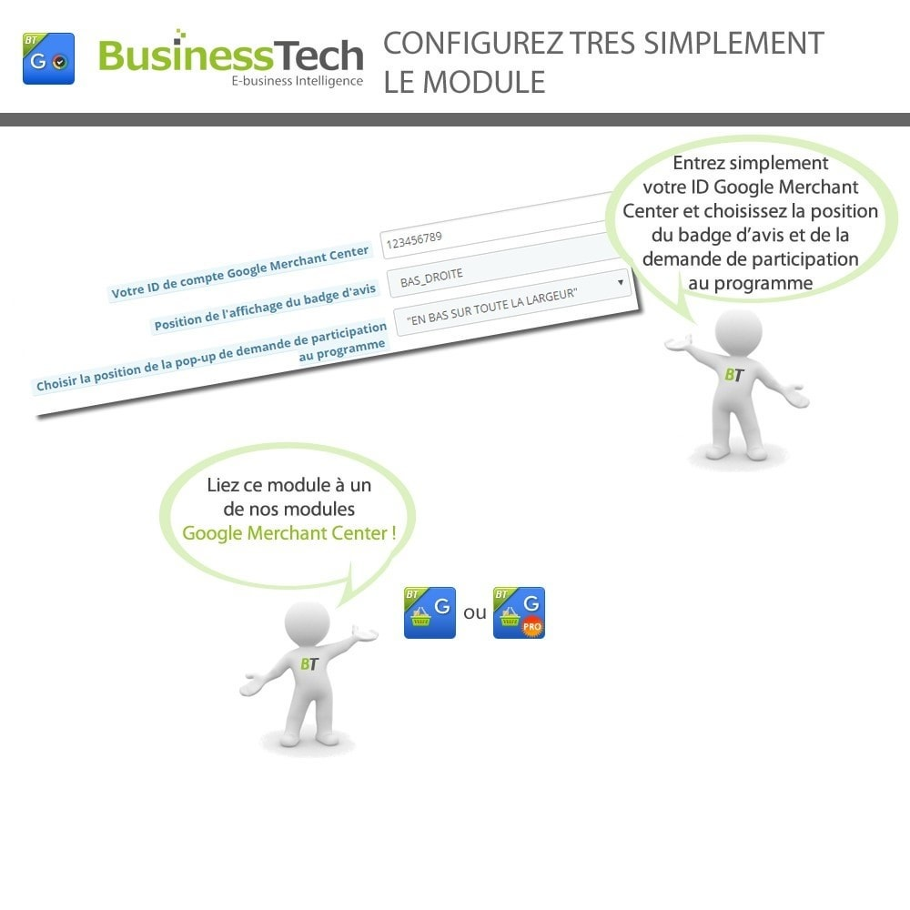 module - Fidélisation & Parrainage - Google Customer Reviews - 3