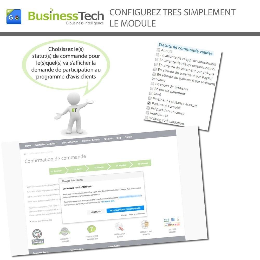 module - Fidélisation & Parrainage - Google Avis Clients (Google Customer Reviews) - 4