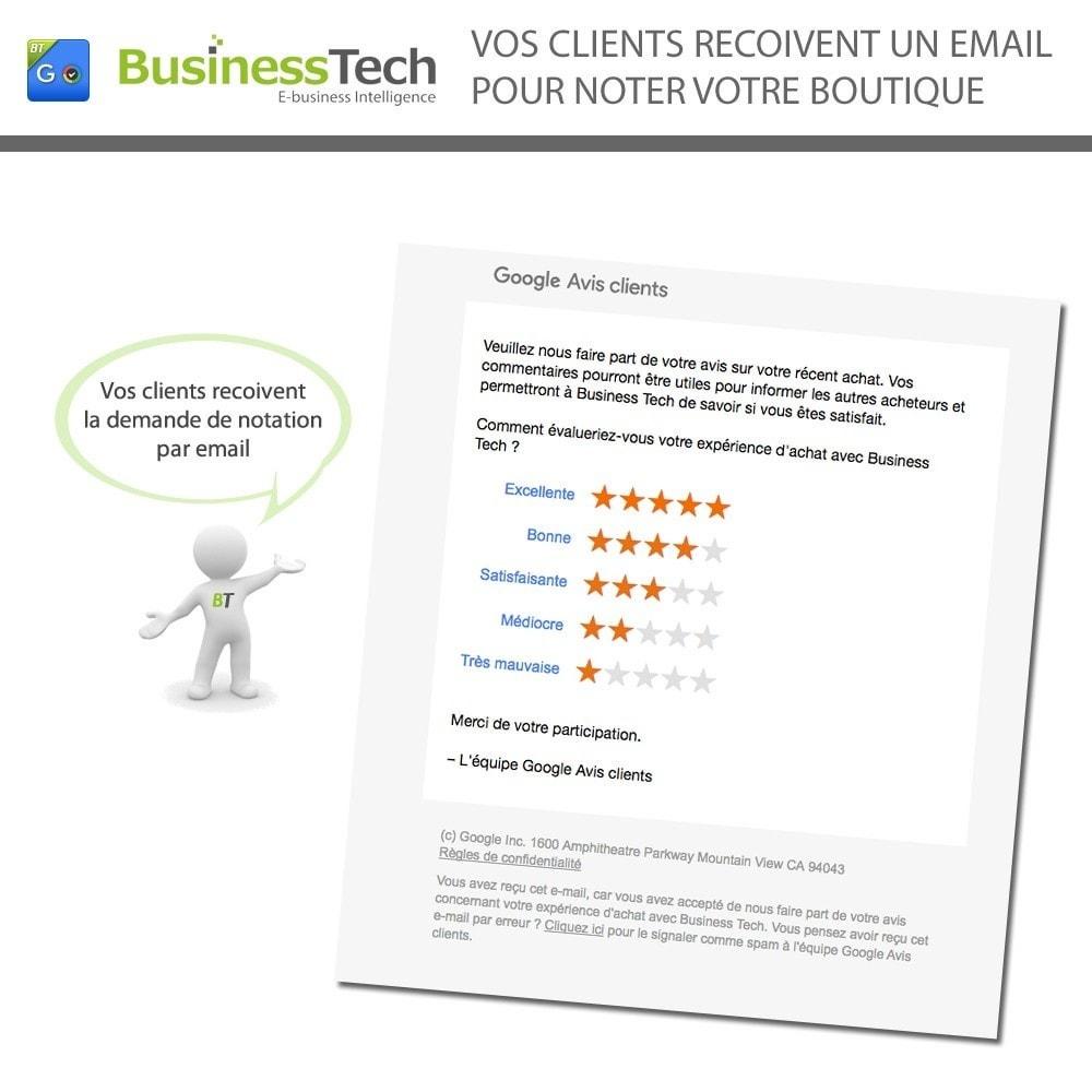 module - Fidélisation & Parrainage - Google Avis Clients (Google Customer Reviews) - 5