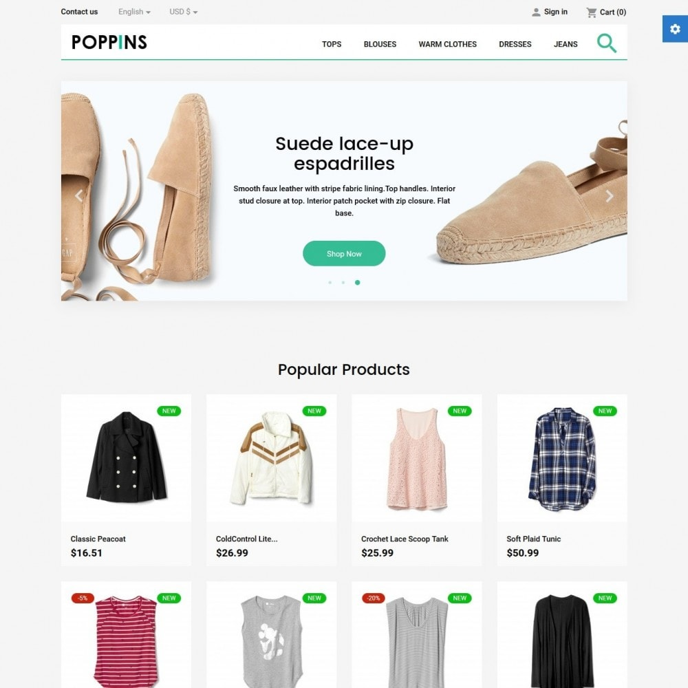 theme - Mode & Schuhe - Poppins Fashion Store - 2