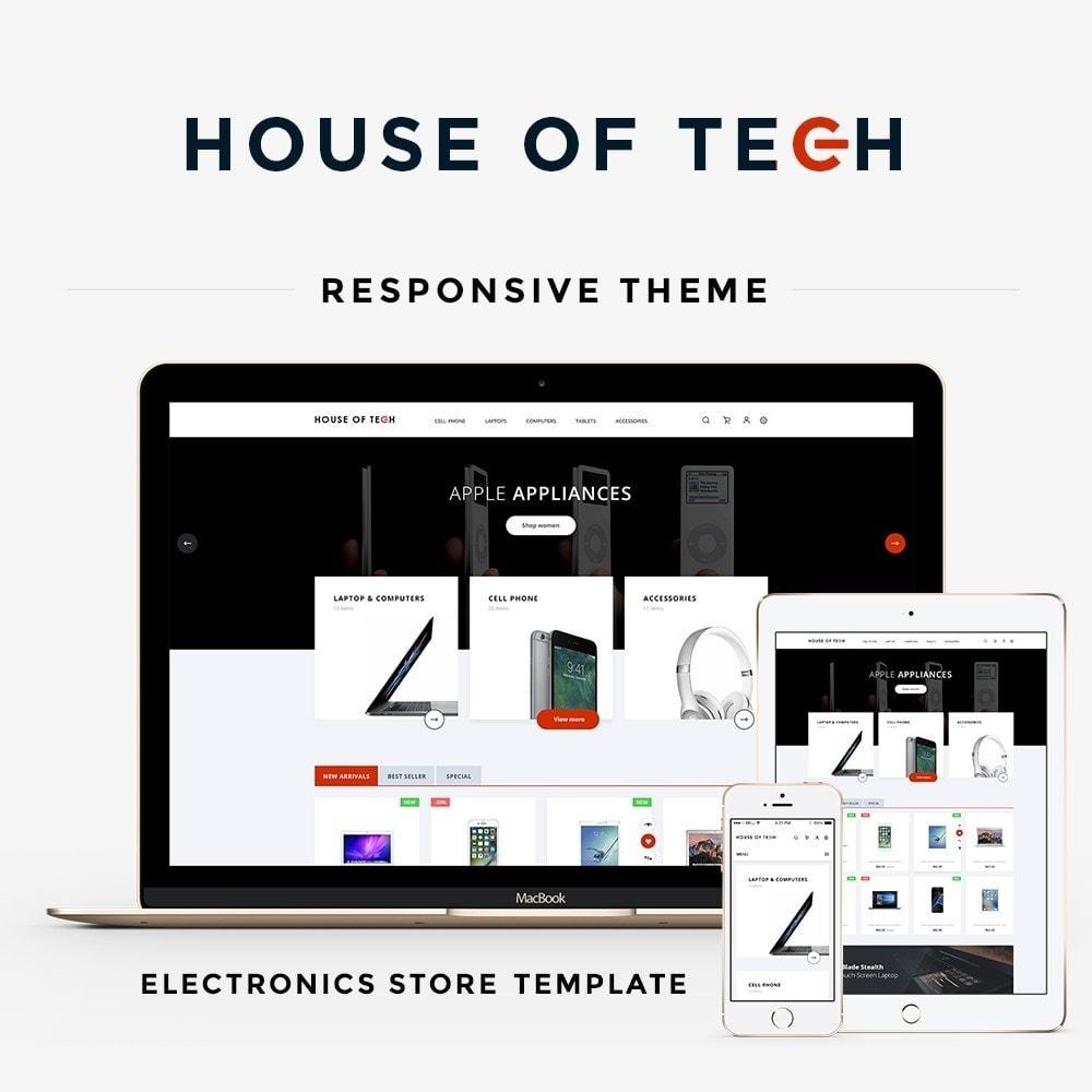 theme - Elektronika & High Tech - House of tech - High-tech Shop - 1