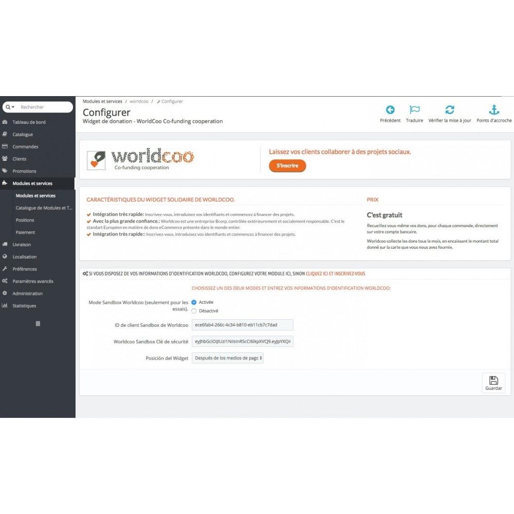module - Fidélisation & Parrainage - Dons en ligne | S'engager avec des ONG reconnues - 5