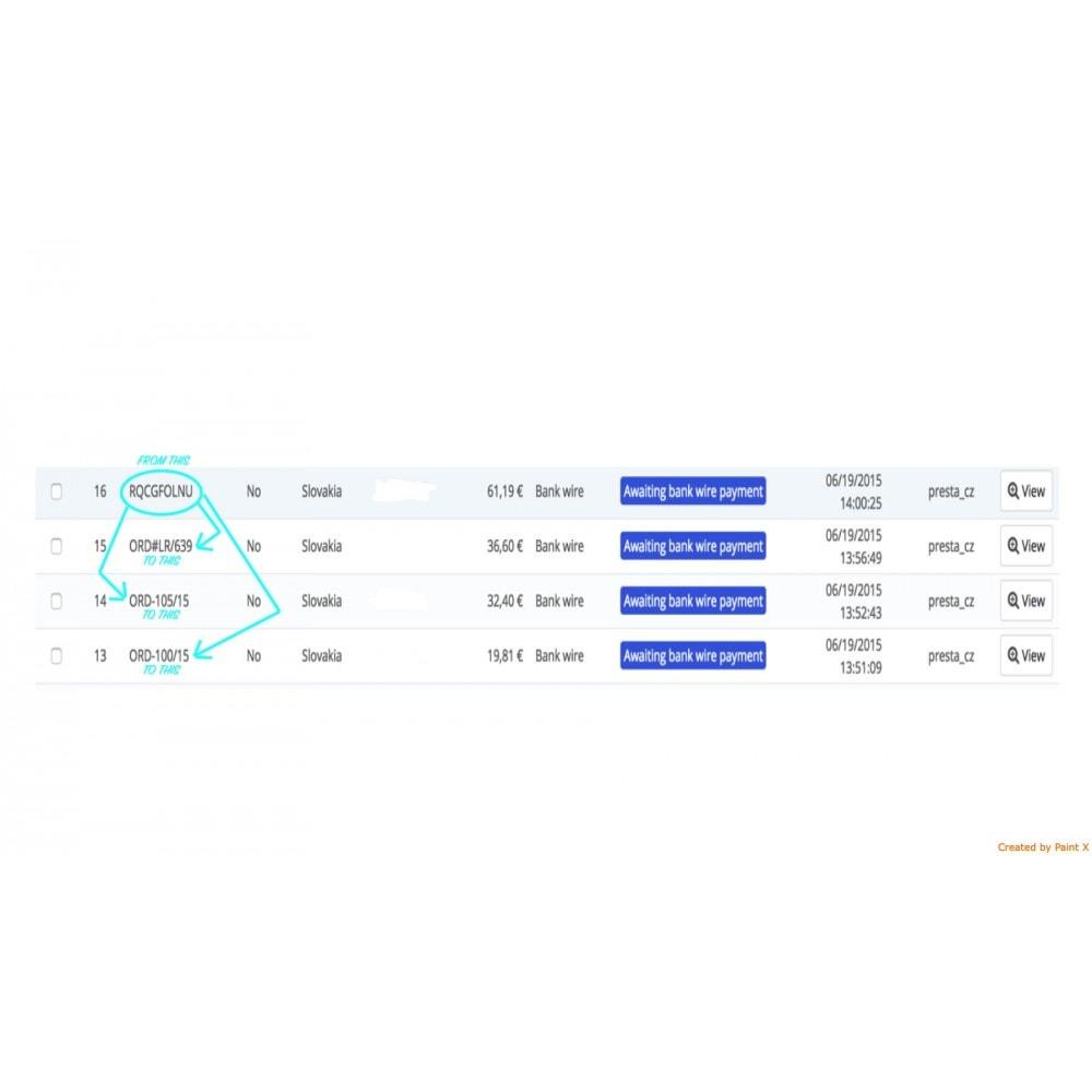 module - Gestión de Pedidos - Número de pedido personalizado y su configuración - 3