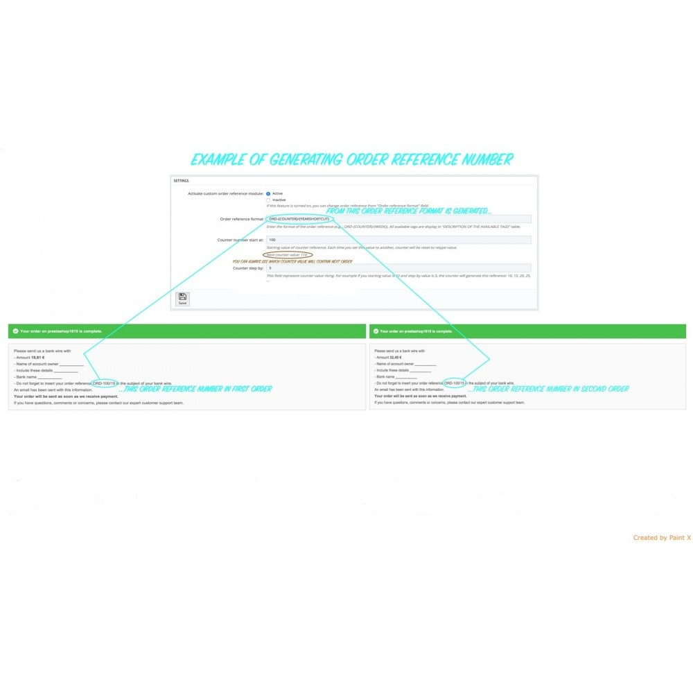 module - Gestión de Pedidos - Número de pedido personalizado y su configuración - 4