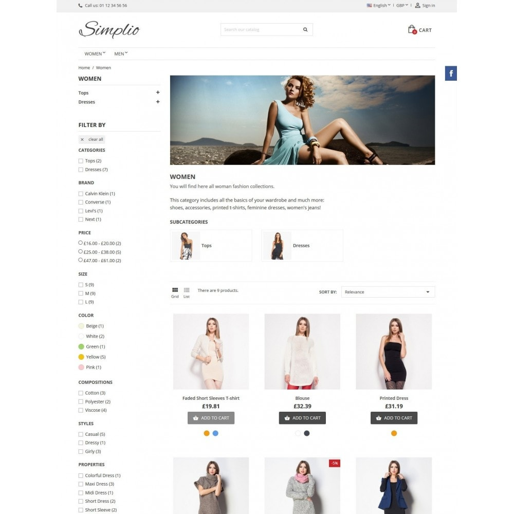 theme - Fashion & Shoes - Simplio - 8