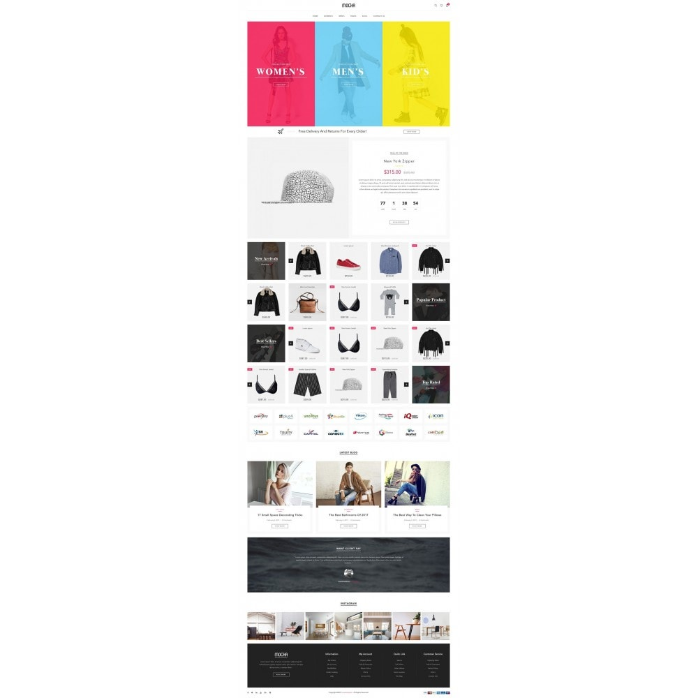 theme - Мода и обувь - JMS Mocha 1.7 - 8