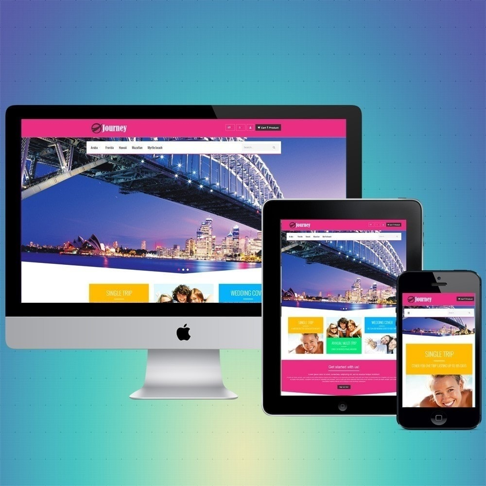 theme - Sport, Aktivitäten & Reise - VP_Journey Store - 1