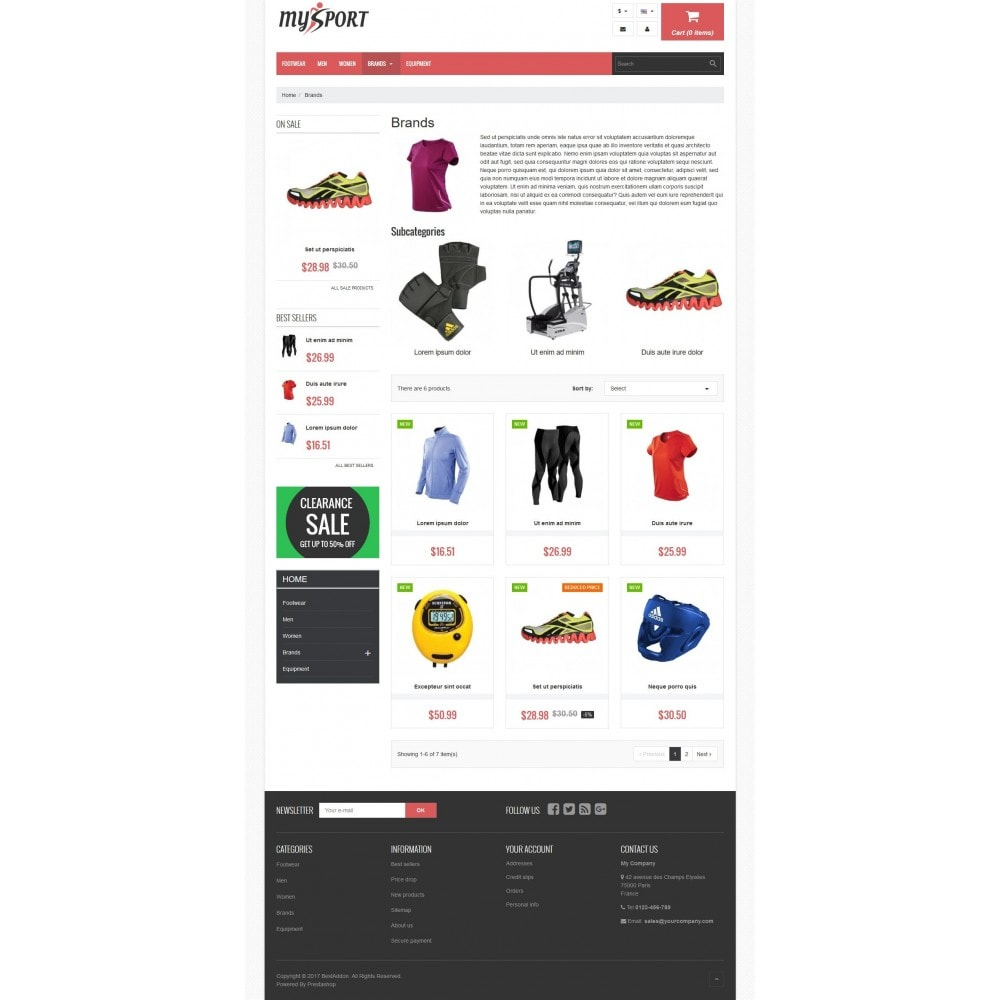 theme - Sports, Activities & Travel - VP_MySport Store - 3